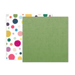 Pink Paislee - Whimsical Collection - 12 x 12 Double Sided Paper - Paper 20