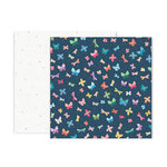 Pink Paislee - Whimsical Collection - 12 x 12 Double Sided Paper - Paper 21