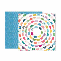Pink Paislee - Whimsical Collection - 12 x 12 Double Sided Paper - Paper 23