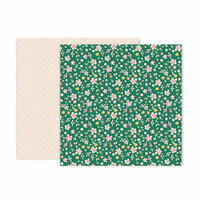 Pink Paislee - Whimsical Collection - 12 x 12 Double Sided Paper - Paper 24