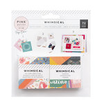Pink Paislee - Whimsical Collection - 2 x 2 Paper Pad - Swatch Book