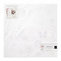 Pink Paislee - Whimsical Collection - 12 x 12 Die Cut Paper