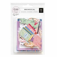 Pink Paislee - Whimsical Collection - Ephemera with Foil Accents