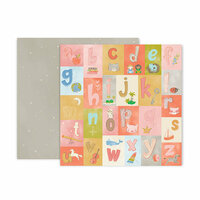 Pink Paislee - Little Adventurer Collection - 12 x 12 Double Sided Paper - Paper 4