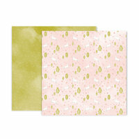 Pink Paislee - Little Adventurer Collection - 12 x 12 Double Sided Paper - Paper 5