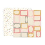 Pink Paislee - Little Adventurer Collection - 12 x 12 Double Sided Paper - Paper 6