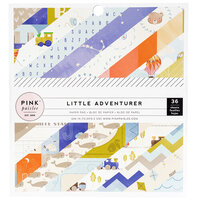 Pink Paislee - Little Adventurer Collection - 6 x 6 Paper Pad - Boy