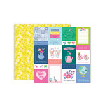 Pink Paislee - Horizon Collection - 12 x 12 Double Sided Paper - Paper 1