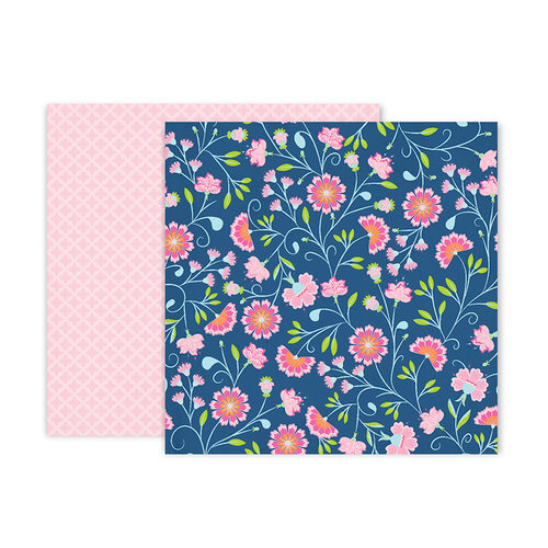 Pink Paislee - Horizon Collection - 12 x 12 Double Sided Paper - Paper 2
