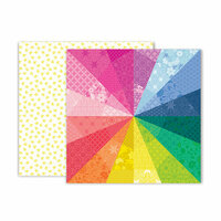 Pink Paislee - Horizon Collection - 12 x 12 Double Sided Paper - Paper 3