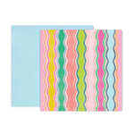 Pink Paislee - Horizon Collection - 12 x 12 Double Sided Paper - Paper 8