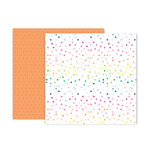 Pink Paislee - Horizon Collection - 12 x 12 Double Sided Paper - Paper 15