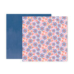 Pink Paislee - Horizon Collection - 12 x 12 Double Sided Paper - Paper 16