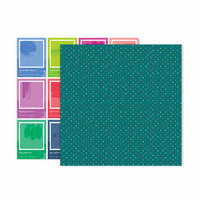 Pink Paislee - Horizon Collection - 12 x 12 Double Sided Paper - Paper 18