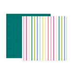 Pink Paislee - Horizon Collection - 12 x 12 Double Sided Paper - Paper 19