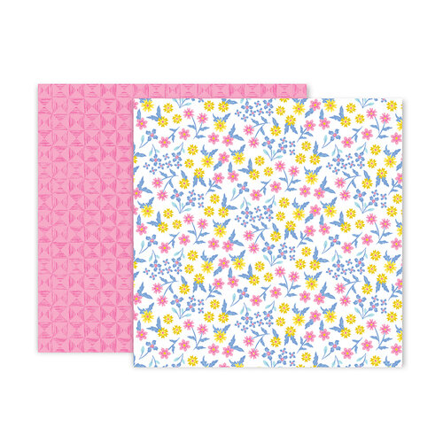 Pink Paislee - Horizon Collection - 12 x 12 Double Sided Paper - Paper 23