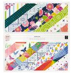 Pink Paislee - Horizon Collection - 12 x 12 Paper Pad