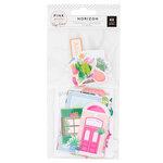 Pink Paislee - Horizon Collection - Ephemera