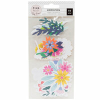 Pink Paislee - Horizon Collection - Ephemera - Mixed Floral