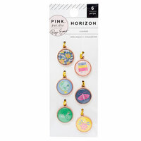 Pink Paislee - Horizon Collection - Copper Charms