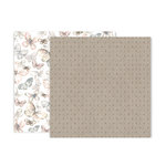 Pink Paislee - Indigo and Ivy Collection - 12 x 12 Double Sided Paper - Paper 3