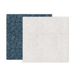 Pink Paislee - Indigo and Ivy Collection - 12 x 12 Double Sided Paper - Paper 4