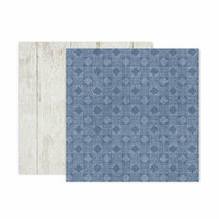 Pink Paislee - Indigo and Ivy Collection - 12 x 12 Double Sided Paper - Paper 7