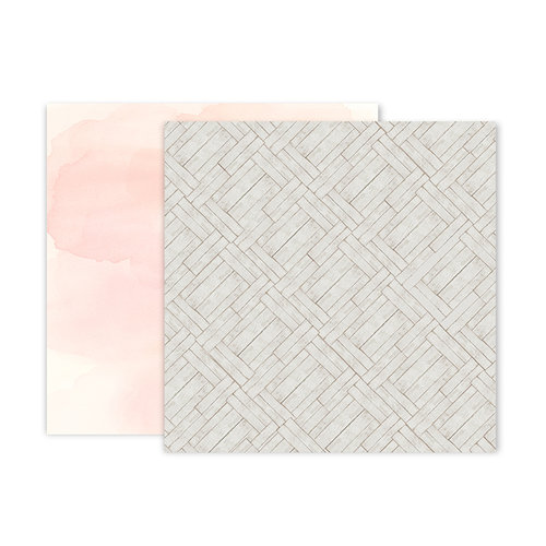 Pink Paislee - Indigo and Ivy Collection - 12 x 12 Double Sided Paper - Paper 8