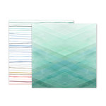 Pink Paislee - Indigo and Ivy Collection - 12 x 12 Double Sided Paper - Paper 12