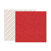 Pink Paislee - Together For Christmas Collection - 12 x 12 Double Sided Paper - Paper 6