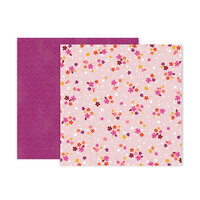 Pink Paislee - Truly Grateful Collection - 12 x 12 Double Sided Paper - Paper 4