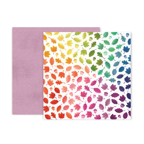 Pink Paislee - Truly Grateful Collection - 12 x 12 Double Sided Paper - Paper 10