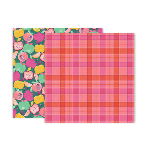 Paige Evans - Truly Grateful Collection - 12 x 12 Double Sided Paper - Paper 12