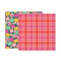 Pink Paislee - Truly Grateful Collection - 12 x 12 Double Sided Paper - Paper 12