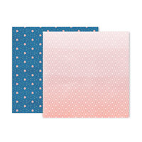Pink Paislee - Truly Grateful Collection - 12 x 12 Double Sided Paper - Paper 18