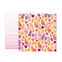 Pink Paislee - Truly Grateful Collection - 12 x 12 Double Sided Paper - Paper 23