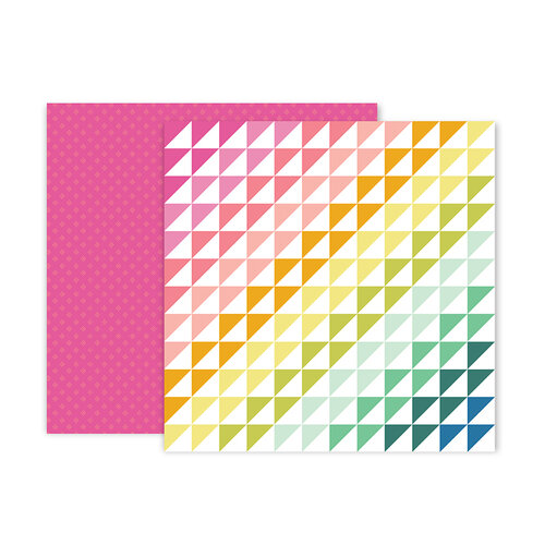 Pink Paislee - Truly Grateful Collection - 12 x 12 Double Sided Paper - Paper 24