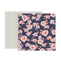 Pink Paislee - Again and Again Collection - 12 x 12 Double Sided Paper - Paper 2