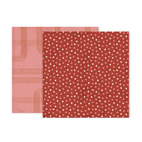 Pink Paislee - Again and Again Collection - 12 x 12 Double Sided Paper - Paper 3