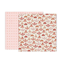 Pink Paislee - Again and Again Collection - 12 x 12 Double Sided Paper - Paper 4