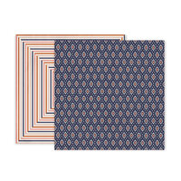 Pink Paislee - Again and Again Collection - 12 x 12 Double Sided Paper - Paper 5