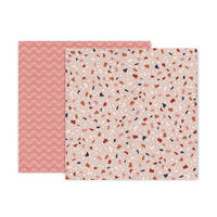 Pink Paislee - Again and Again Collection - 12 x 12 Double Sided Paper - Paper 6