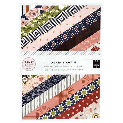 Pink Paislee - Again and Again Collection - 6 x 8 Paper Pad