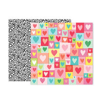 Pink Paislee - Lucky Us Collection - 12 x 12 Double Sided Paper - Paper 4