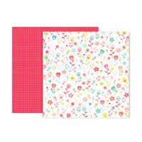 Pink Paislee - Lucky Us Collection - 12 x 12 Double Sided Paper - Paper 5