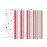 Pink Paislee - Lucky Us Collection - 12 x 12 Double Sided Paper - Paper 6
