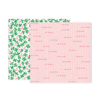 Pink Paislee - Lucky Us Collection - 12 x 12 Double Sided Paper - Paper 7