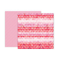 Pink Paislee - Lucky Us Collection - 12 x 12 Double Sided Paper - Paper 8