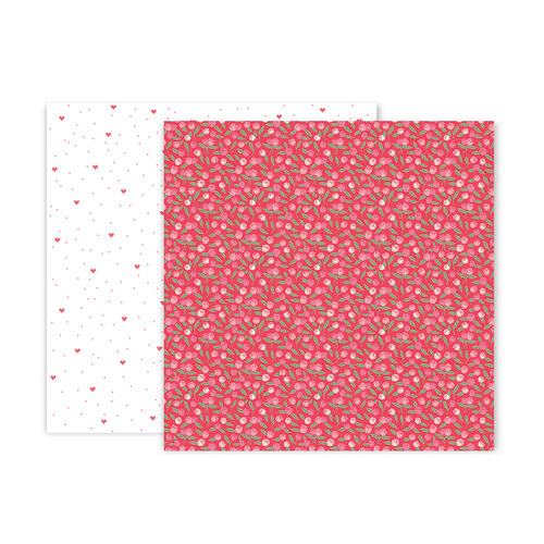 Pink Paislee - Lucky Us Collection - 12 x 12 Double Sided Paper - Paper 10