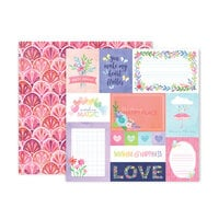 Paige Evans - Bloom Street Collection - 12 x 12 Double Sided Paper - Paper 1